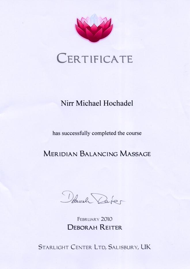 Meridian Balance Massage