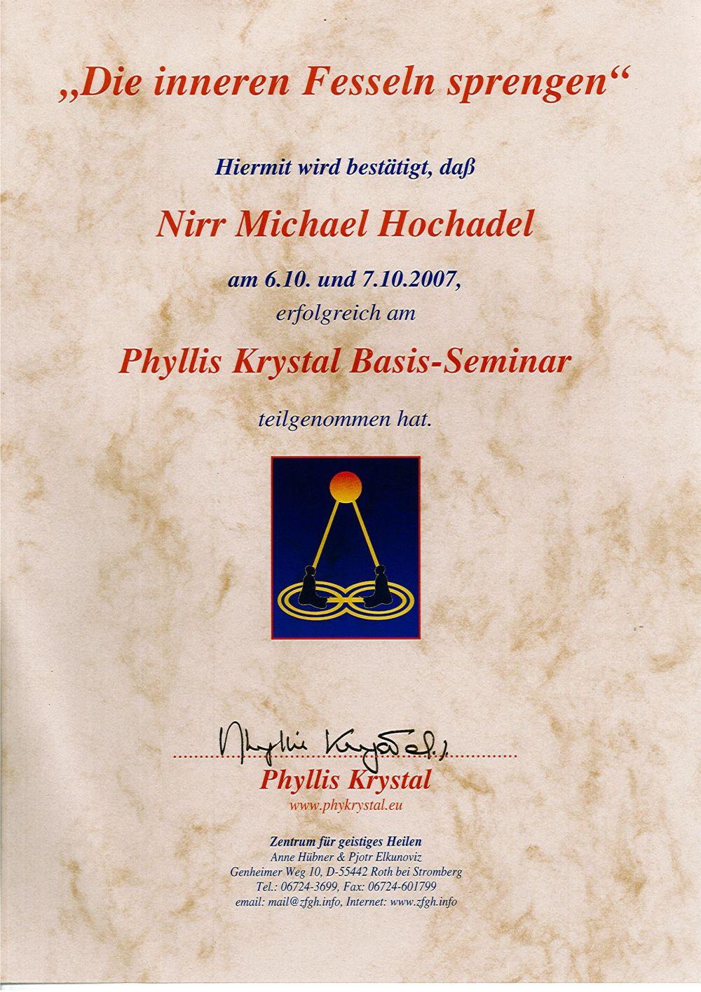 Cutting the ties that bind_Phyllis Krystal