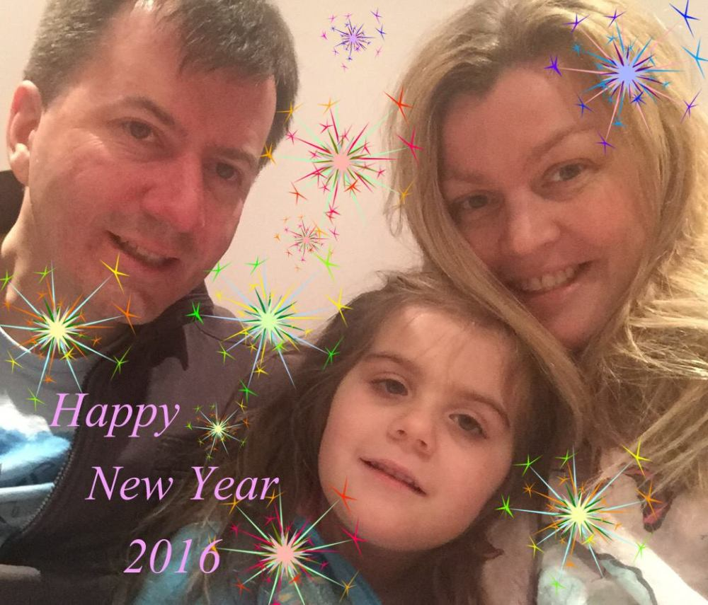 Happy New Year 2016 - Family pic